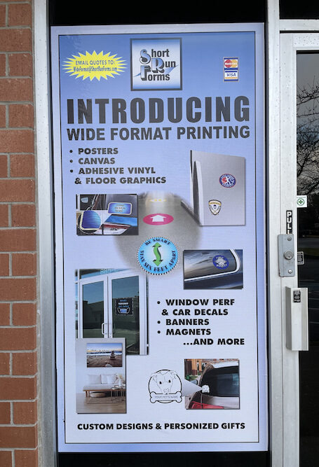 wide format printing collage