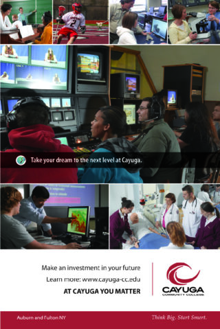 College Course Poster Advertisement Printing