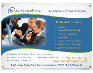 Healthcare Industry Printed Marketing Banner