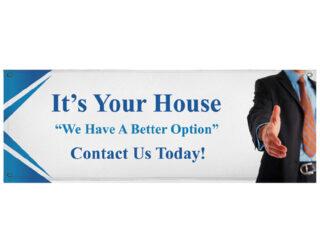 Real Estate Large Format Banner Print